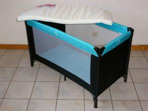 Gratis bijzetten van -bedje, -badje, -box en kinderstoel
