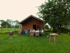 Landschapstuin - een gezellige avond met vrienden